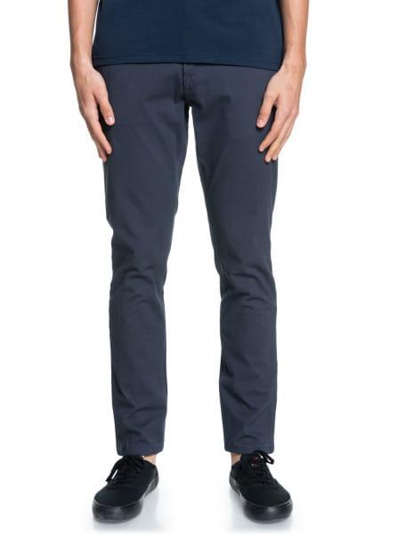Синий мужские брюки-чинос krandy slim