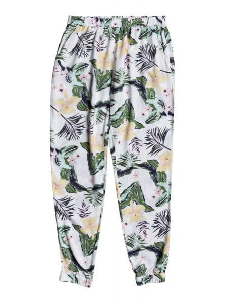 Белый женские пляжные брюки easy peasy