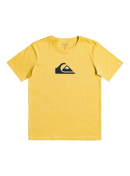 Бежевый детская футболка comp logo 8-16