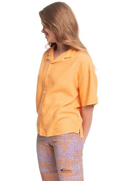Жен./Одежда/Блузы и рубашки/Рубашки с коротким рукавом Женская рубашка с коротким рукавом Surf Camp
