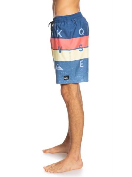 """Муж./Серф и вейкборд/Бордшорты/Шорты для плавания Мужские плавательные шорты Word Block 17"""""""
