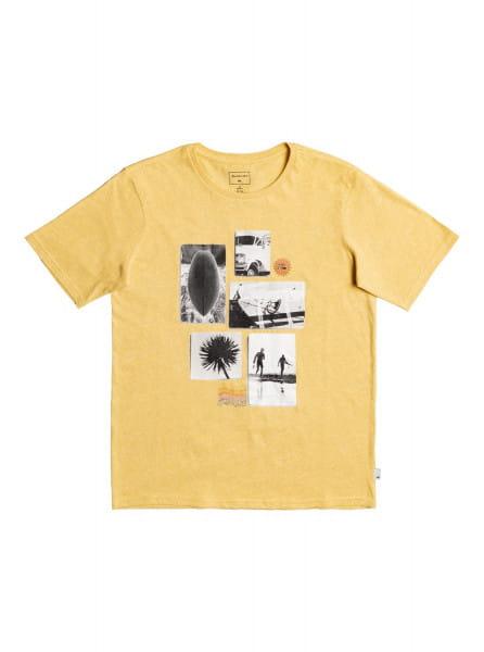 Бежевый детская футболка custom weather 8-16