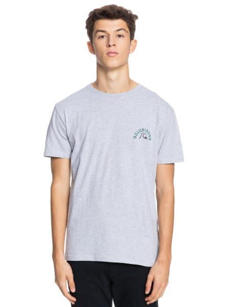 Бирюзовый мужская футболка foreign tides