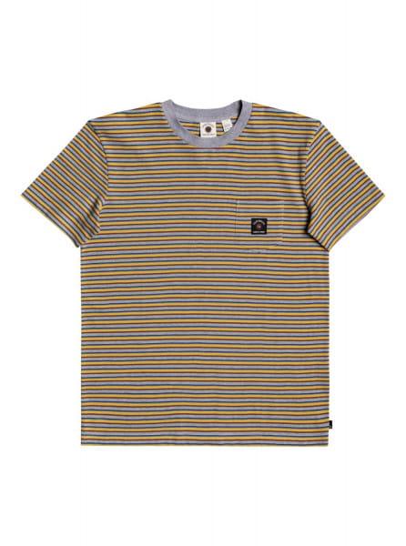 Желтый мужская футболка new beat