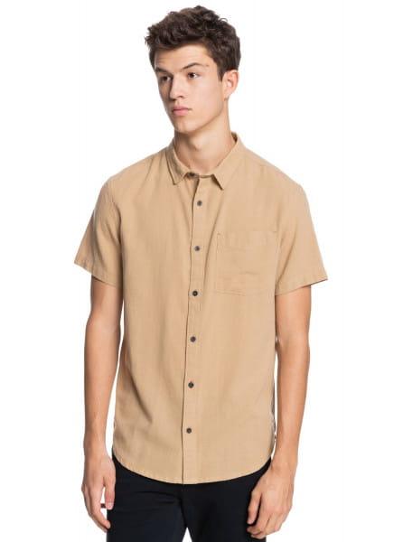 Муж./Одежда/Рубашки/Рубашки с коротким рукавом Мужская рубашка с коротким рукавом Time Box