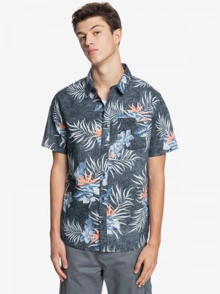 Муж./Одежда/Рубашки/Рубашки с коротким рукавом Мужская рубашка с коротким рукавом Paradise Express