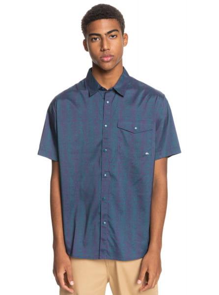 Муж./Одежда/Рубашки/Рубашки с коротким рукавом Мужская рубашка с коротким рукавом Doldrums
