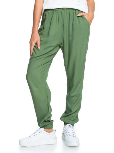 Зеленый женские пляжные брюки easy peasy