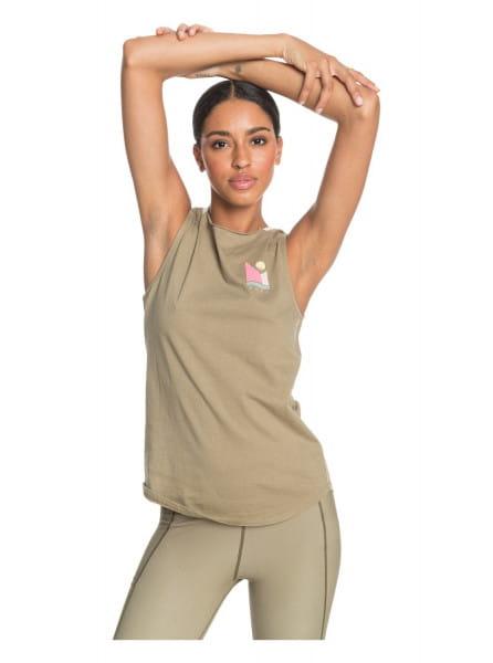 Жен./Одежда/Майки и топы/Спортивные майки Женский спортивный топ Saga Africa