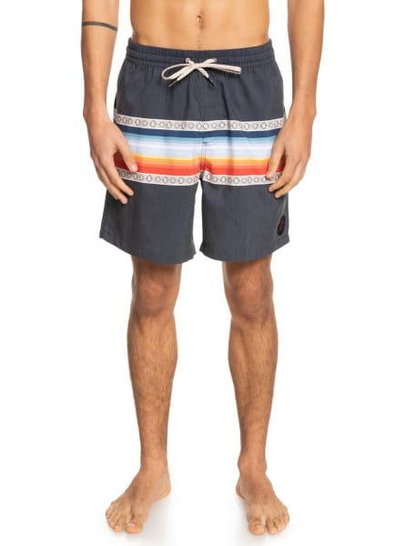 """Муж./Серф и вейкборд/Бордшорты/Шорты для плавания Мужские плавательные шорты Sun Faded 17"""""""