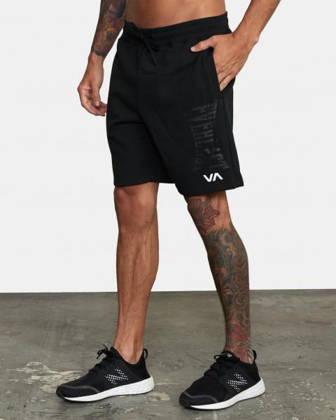 Белый мужские тренировочные шорты everlast x rvca