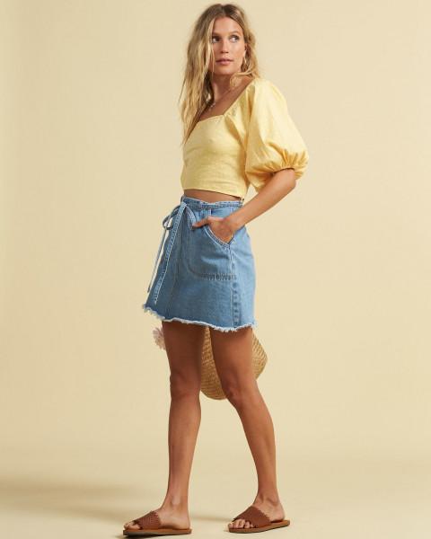Жен./Одежда/Юбки/Юбки Женская юбка Salty Blonde Tied Up