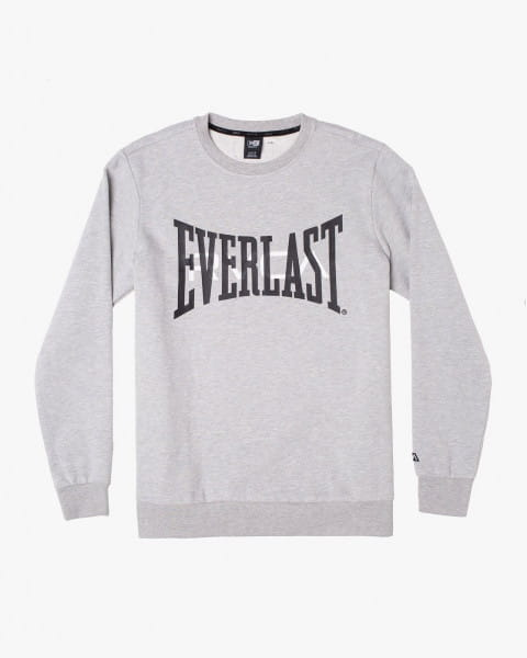 Белый мужской свитшот everlast x rvca
