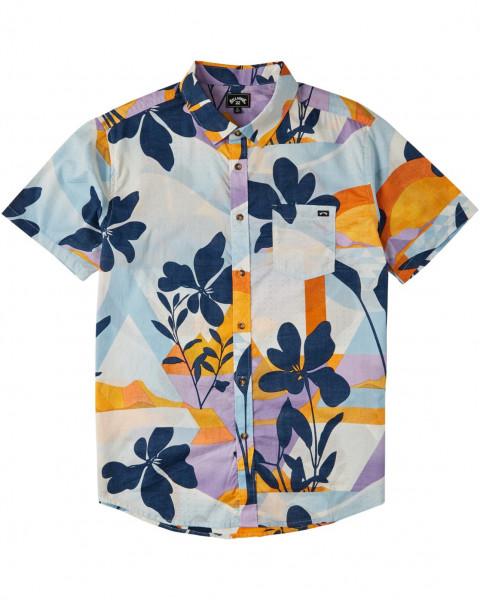 Муж./Одежда/Рубашки/Рубашки с коротким рукавом Мужская рубашка с коротким рукавом Sundays Floral