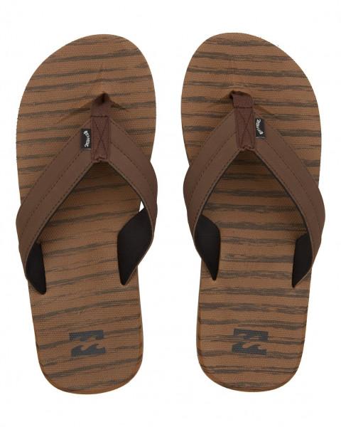 Коричневые мужские сандалии all day impact texture