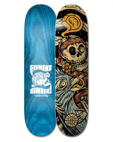 """Бежевый дека для скейтборда timber high dry skull 8.25"""""""
