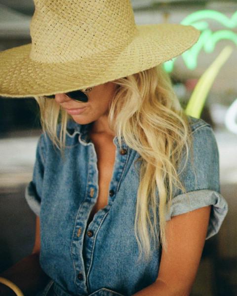 Женская шляпа от солнца Salty Blonde Sun Rays