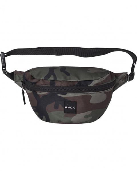 Зеленый поясная сумка rvca