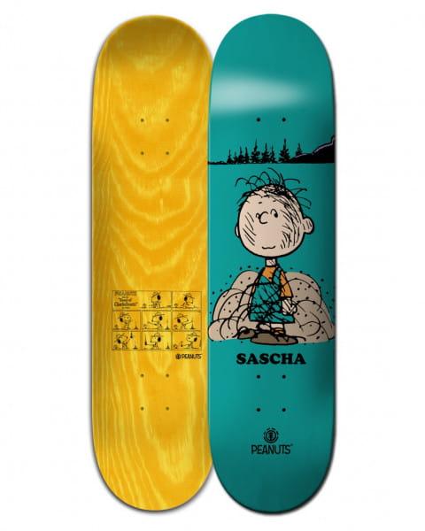 """Мультиколор дека для скейтборда peanuts pigpen x sascha 8.5"""""""