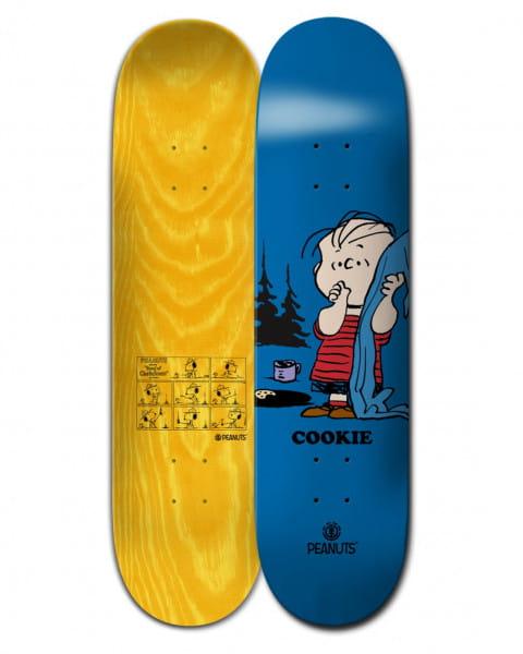 "Синий дека для скейтборда peanuts linus x cookie 8.4"""