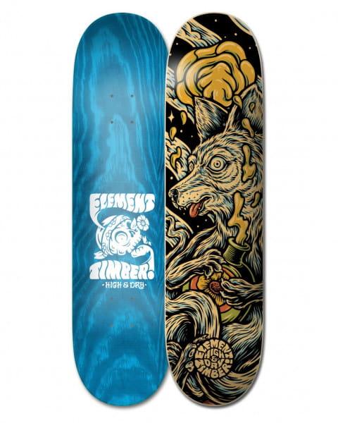 """Бежевый дека для скейтборда timber high dry wolf 8.38"""""""