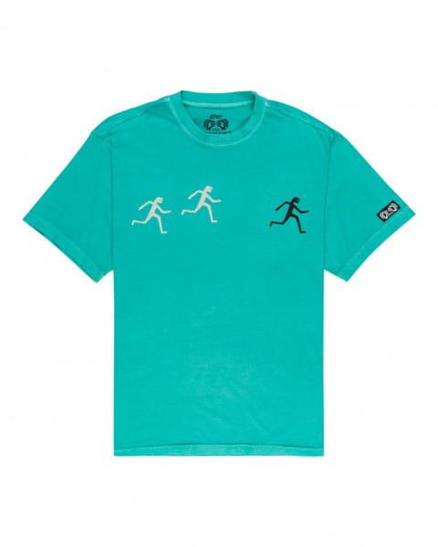 Бирюзовый мужская футболка fernando elvira summit