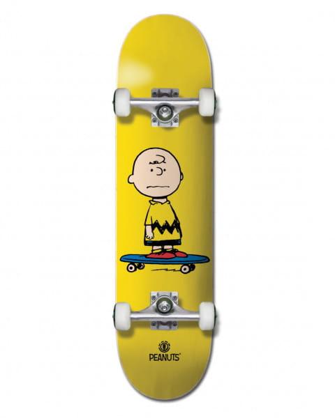 "Мультиколор скейтборд peanuts charlie 7.75"""