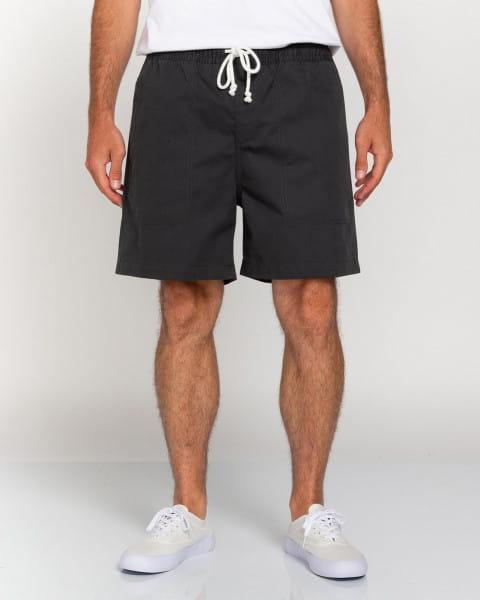 """Серый мужские эластичные шорты manual twill 17"""""""