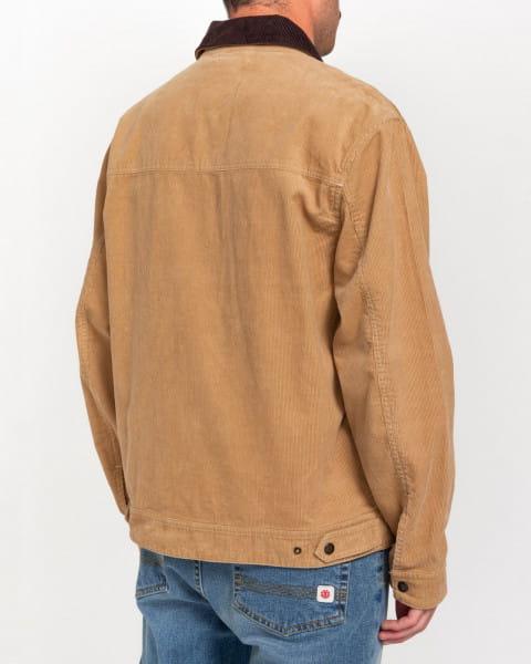 Оранжевый мужская вельветовая куртка wolfeboro craftman light