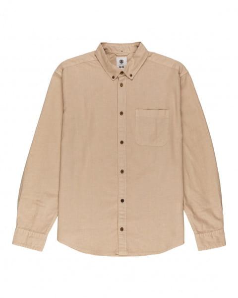 Серый мужская рубашка с длинными рукавами bold spring