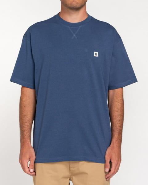 Голубой мужская футболка forces