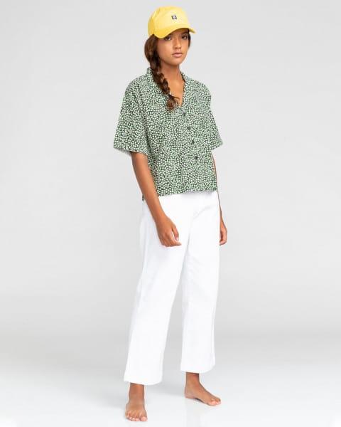 Белый женские брюки-чинос olsen