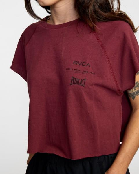 Жен./Одежда/Майки и топы/Спортивные топы Женская футболка без рукавов Everlast Raglan Muscle