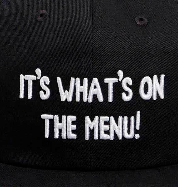 Муж./Аксессуары/Головные уборы/Бейсболки Мужская бейсболка DC x Bob's Burgers Whats On The Menu