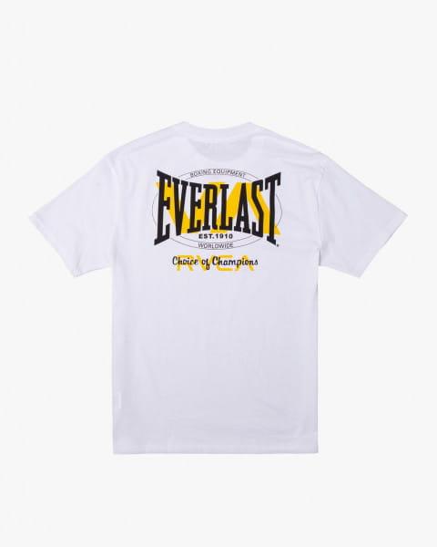 Муж./Одежда/Футболки, поло и лонгсливы/Спортивные футболки и лонгсливы Мужская футболка Everlast x RVCA Stack Patch