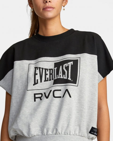 Жен./Одежда/Майки и топы/Спортивные топы Женский укороченный топ Everlast x RVCA