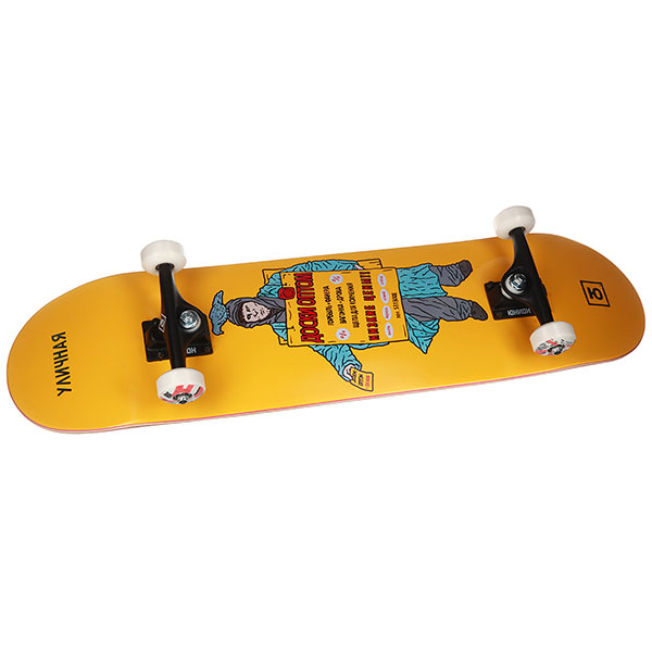 Скейтборд в сборе Юнион  Advertise 8,0x31,785 Medium, Колёса 52mm/102a