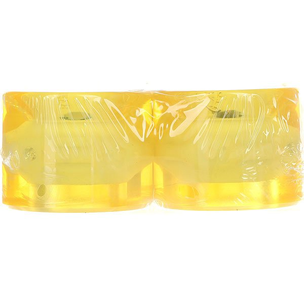/Скейтборд/Колеса/Колеса Колеса для лонгборда Вираж 83A 59 mm Yellow Led Blue