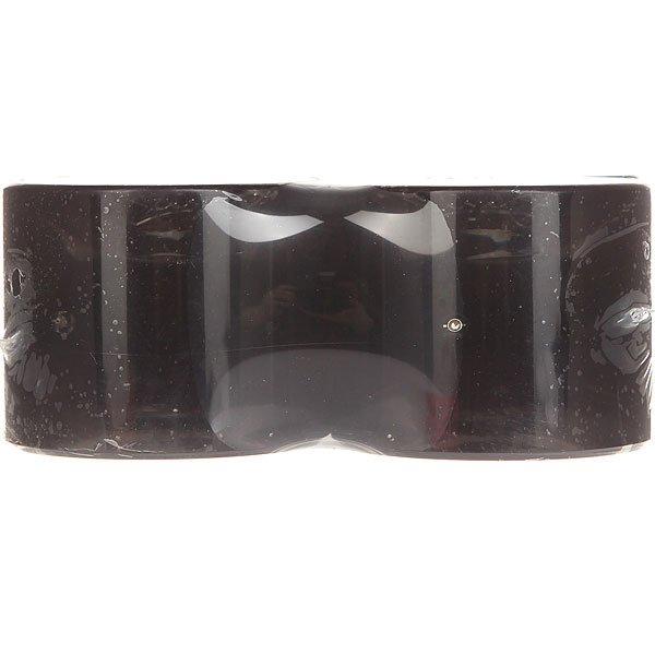 /Скейтборд/Колеса/Колеса Колеса для лонгборда Вираж 83A 69 mm Black Led Red