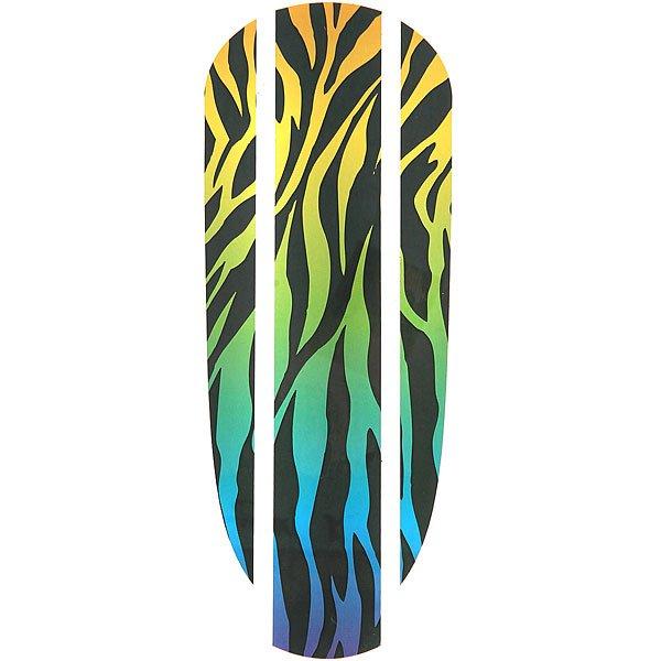 Наклейка на деку Пластборд Zebra Sticker Black/Multi