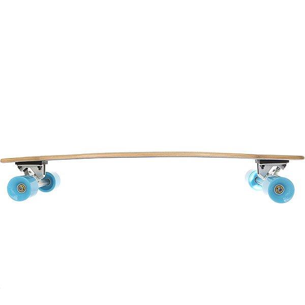 /Скейтборд/Скейтборды в сборе/Скейтборды в сборе Лонгборд Вираж Bounty Blue 9 x 36 (91.4 см)