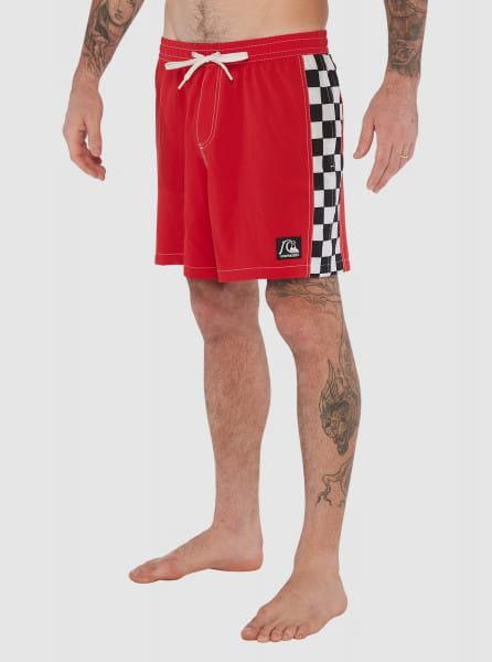 """Бордовый мужские плавательные шорты dna checker arch 17"""""""
