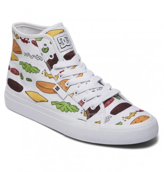 Унисекс/Обувь/Кеды и кроссовки/Кеды Высокие кеды DC x Bob's Burgers Manual Hi