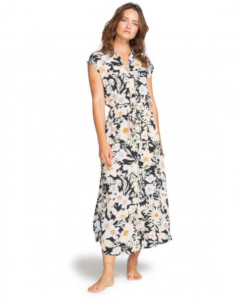 Мультиколор женское платье на пуговицах little flirt