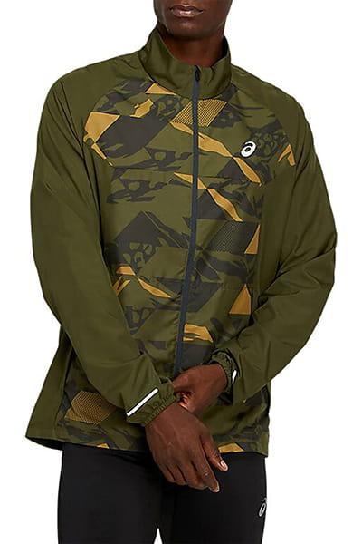 Зеленый ветровка future camo jacket