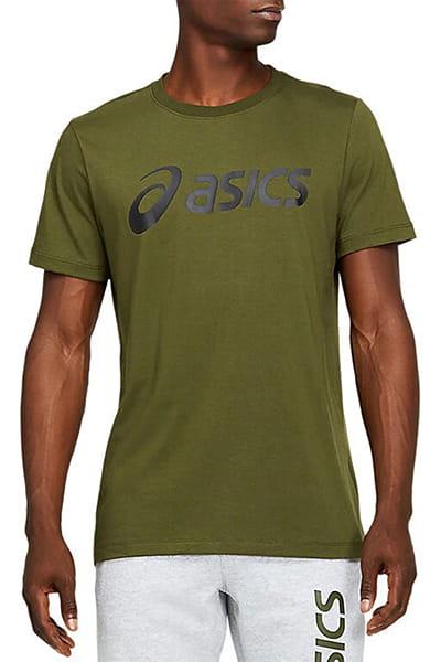 Муж./Фитнес и бег/Одежда/Спортивные футболки и лонгсливы Футболка ASICS BIG LOGO TEE