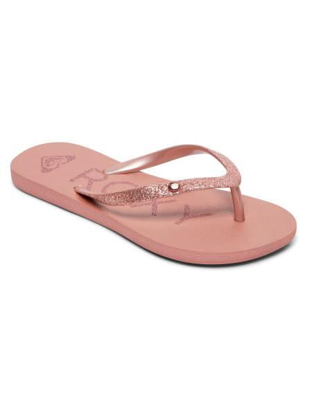 Розовые детские сланцы viva glitter