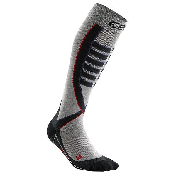 Серый компрессионные гольфы obstacle compression knee socks