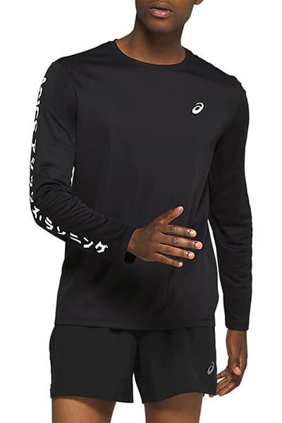 Муж./Фитнес и бег/Одежда/Спортивные футболки и лонгсливы Футболка с длинным рукавом KATAKANA LS TOP