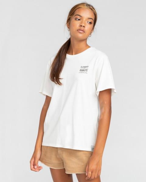 Мультиколор женская футболка peanuts adventure